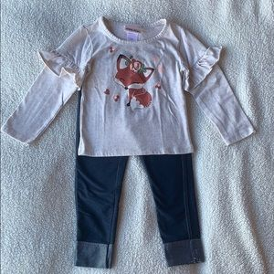 🧸5 for $25🧸 2-piece fox outfit